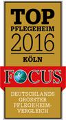 Logo Focus-Auszeichnung Top Pflegeheim 2016 / zum Artikel