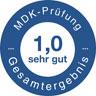 Logo MDK-Prüfung / zu den SBK-Transparenzberichten
