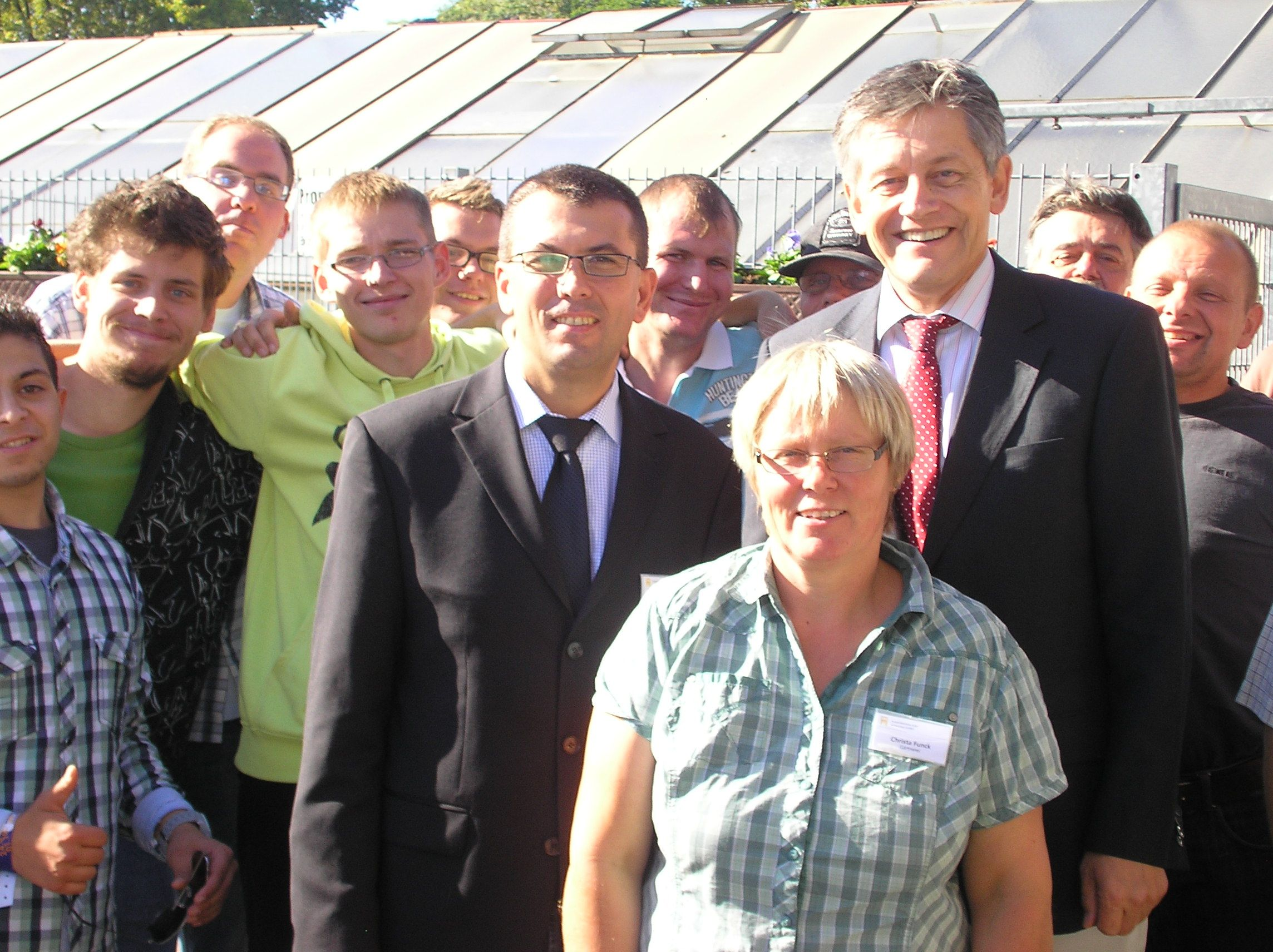 SBK Gruppenfoto Gärtnereifest