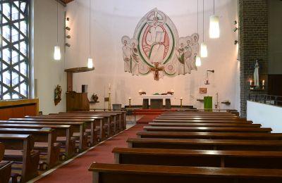 Kirchenraum St. Anna