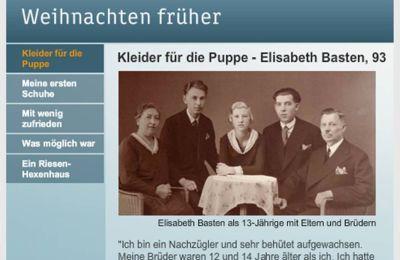 Ausschnitt der Homepage www.heute.de