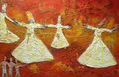 Ausstellungsbild Derwische