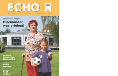 Titelblatt Echo Nr. 2 2012