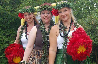 39. Annafest Die Tänzerinnen von Hula Ho'olaulea