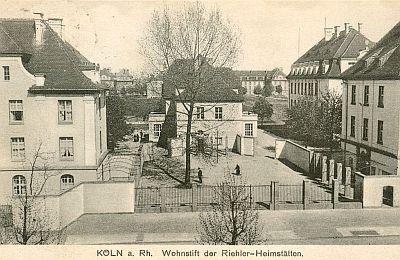 """historisch Postkarte der """"Riehler Heimstätten"""""""