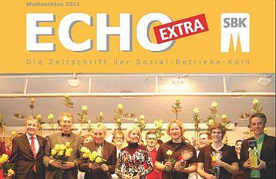 Ausschnitt des Titelblatts des Echo-Extra Weihnachten 2012
