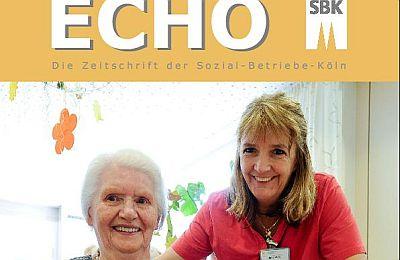 Ausschnitt der Titelseite des SBK-Echo Nr. 1/2013