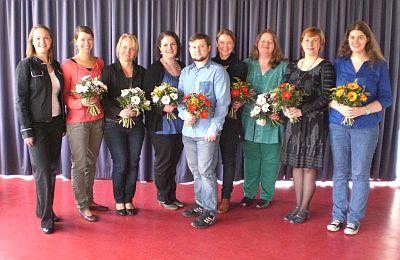 Gruppenbild der erfolgreichen SBK-Trainees 2013