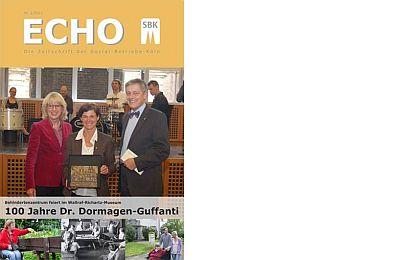 Das Titelblatt des aktuellen SBK-Echo Nr. 2/2013