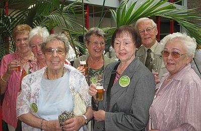 SBK-Ehrenamtler beim OB-Empfang für die SeniorenNetzwerke