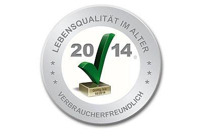 Das Symbol Grüner Haken 2014