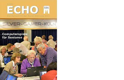 Das Titelblatt des aktuellen SBK-Echo Nr. 3/2013