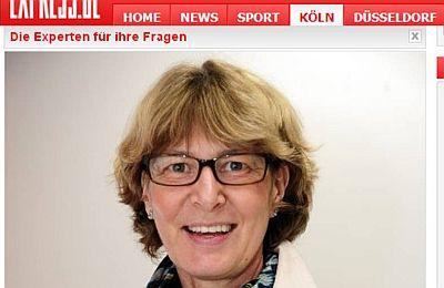 Portrait von Martina Steinheuer auf der Website des Kölner Express