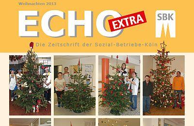 """Ausschnitt des Titels des Echo-Extra """"Weihnachten 2013"""""""