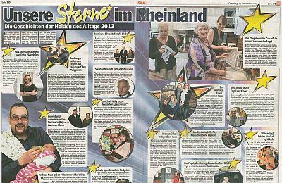 """Express-Bericht """"Sterne im Rheinland"""" ganz"""