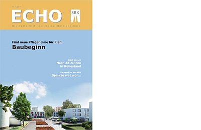Das Titelblatt des Echo Nr. 1/2014