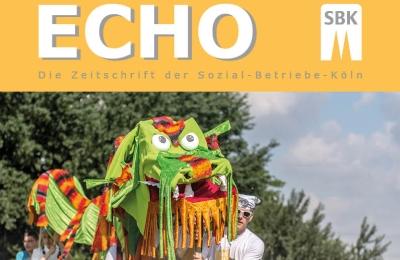 Ausschnitt des Titels des Echo Nr. 2/2014