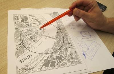 SBK-Riehl Bombenfund 2014 Plan Evakuierungsradius