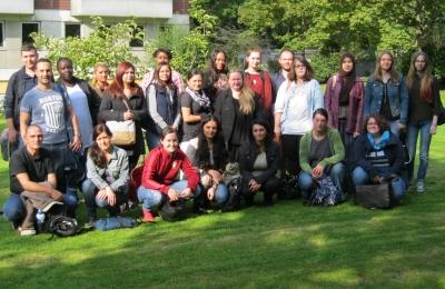 Die Schülerinnen und Schüler des 65. Kursus der Altenpflege am Fachseminar der SBK