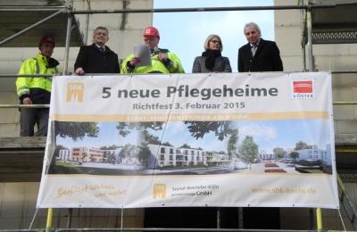 SBK Richtfest Riehl 2015