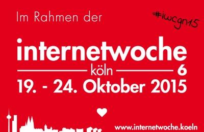 Logo der 6. Internetwoche Köln