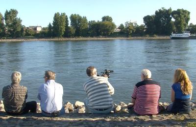 Riehl entdecken - Team am Rhein