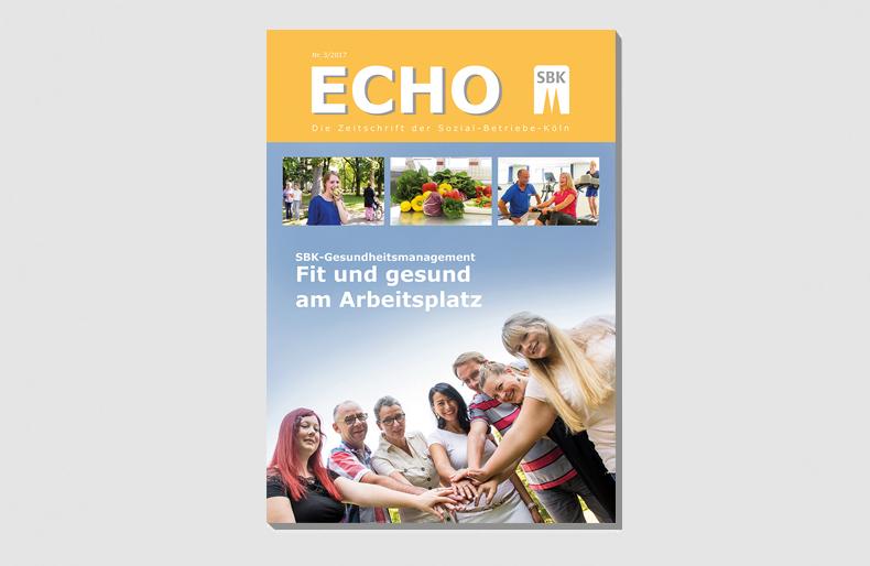 Titelblatt der Echoausgabe Nr. 3/2017