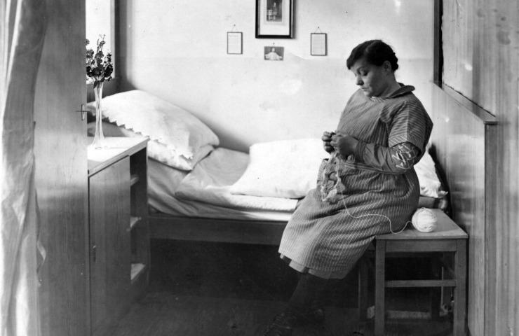 SBK 1927-33 - Bewohnerin Schlafkoje