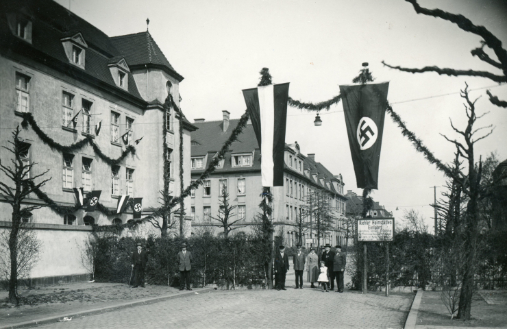 SBK 1933-45 - Eingang