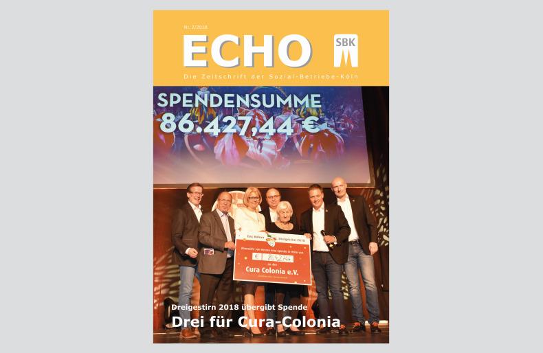 SBK-Echo 2018 Nr. 2 Titel auf Hintergrund