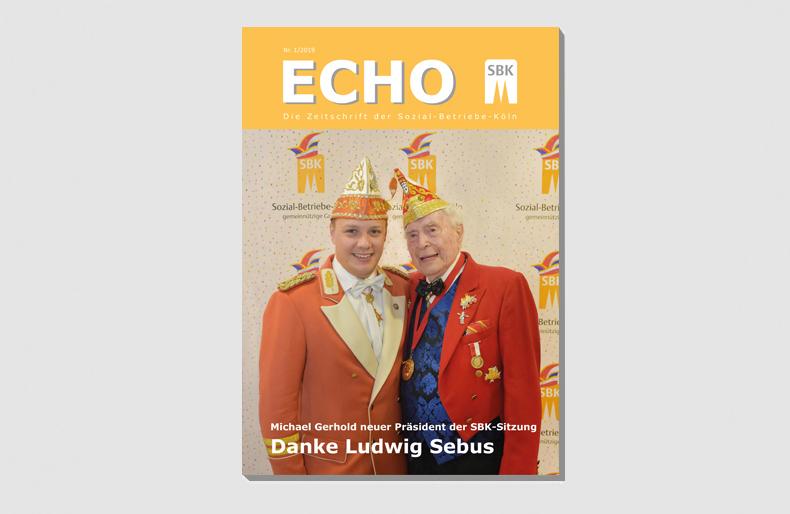 SBK-Echo Nr. 1 2019 Titel