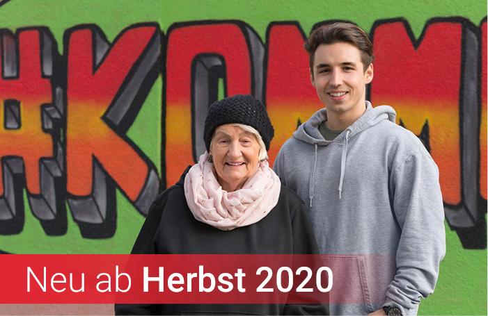 Neue Ausbildung ab Herbst 2020