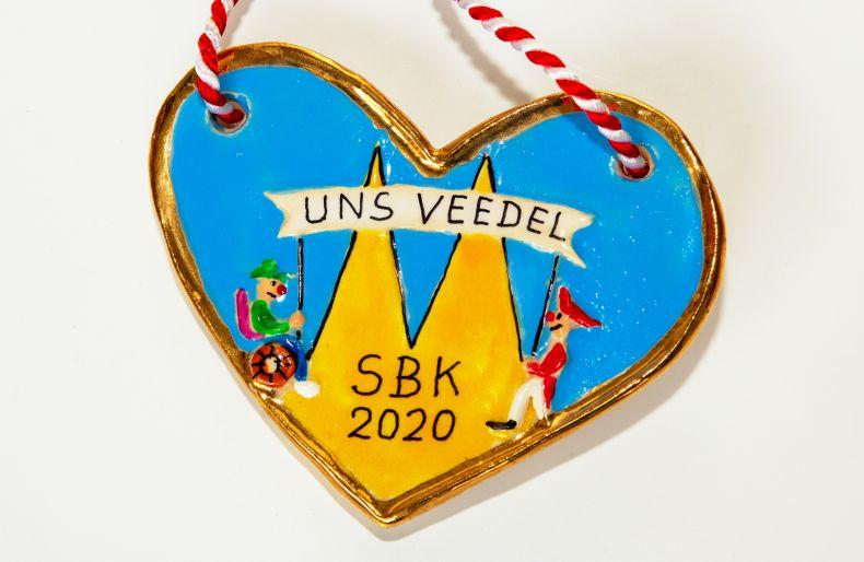 """Der SBK-Orden passend zum Motto 2020: """"Et Hätz schleiht em Veedel"""""""